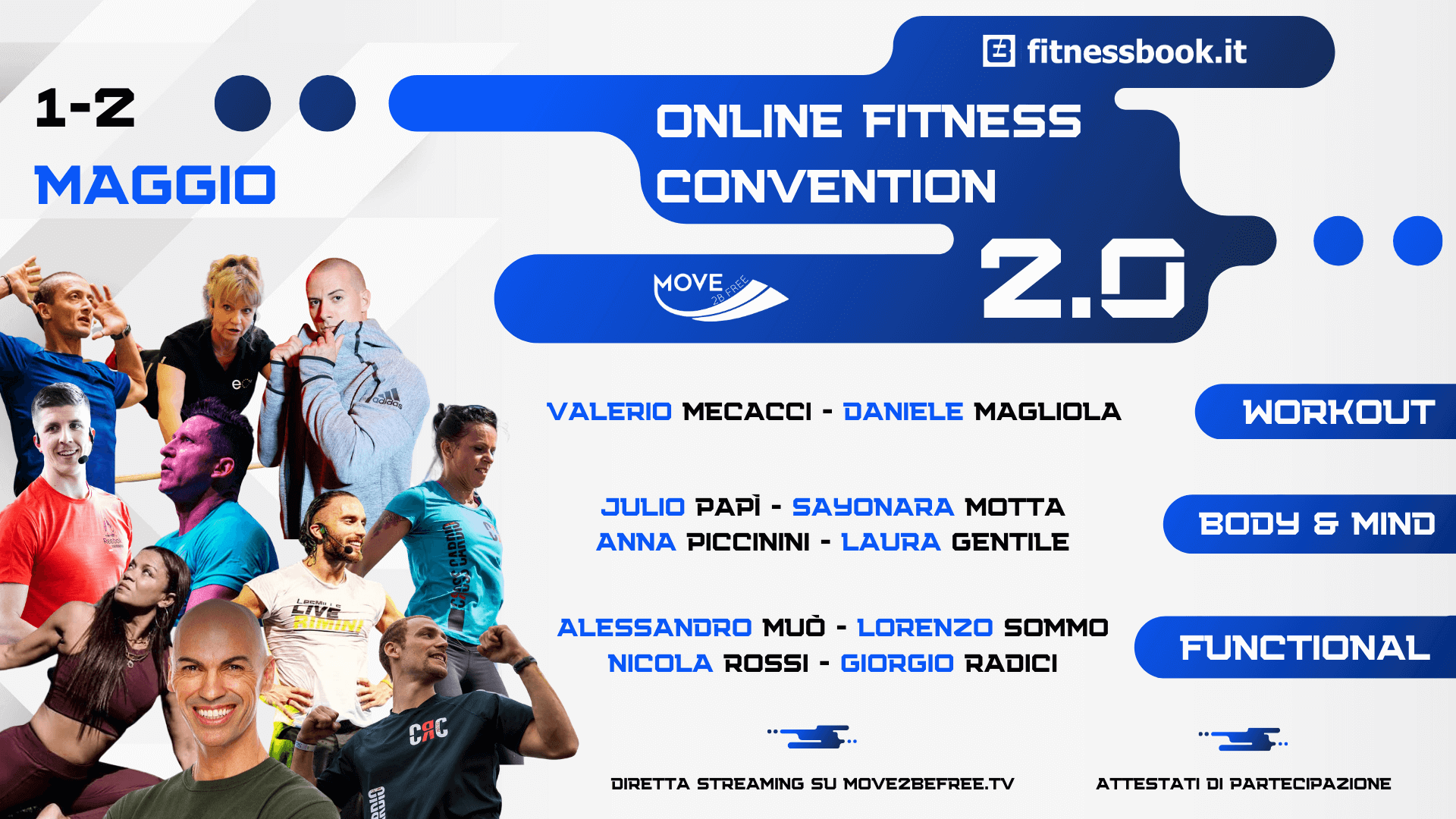 ONLINE FITNESS CONVENTION 2.0